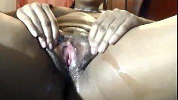 Ebony Babe With A Puffy Pussy