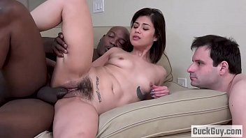 Hairy Penelope Forces Her Boy To Clean Up The Mess