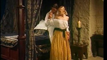Lesbian servant seduces and licks her landlady pussy