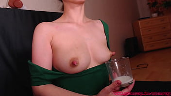 Mama milking her boobs for you