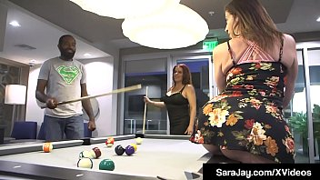 Pawg Milf Sara Jay & Nicky Ferrari Suck & Fuck A Bearded Big Black Cock To Get Their Nice White Pussies Stuffed In This Hot Interracial Threesome thumbnail