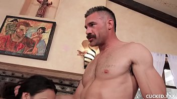 Watch Eliza Ibarra's husband dreams that his wife is fucked by a stranger! Watch this babe cucking her man by taking a hard cock in front of him even if it was a nightmare! preview