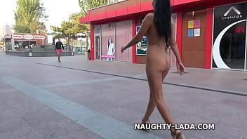 Especial. naughty lada public nude walk theme, interesting