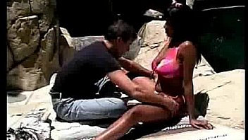 Buxom babe fucked in tropical garden - Free Ebony   Movies and Clips 00