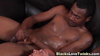 Ebony chubby gay