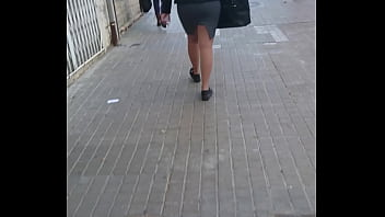 Skirt sexy fat ass chic