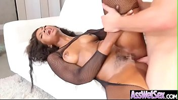 (Peyton Sweet) Slut Big Ass Girl Get Oiled And Nailed Deep In Her Behind vid-25