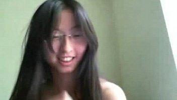 WebcamPornLive.com -  Asian Cutie Masturbating and Dildoing Herself on Webcam