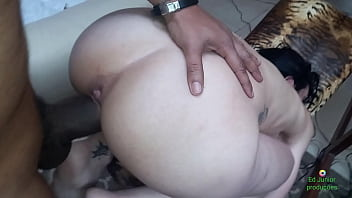 Sexo por toda a suíte do motel