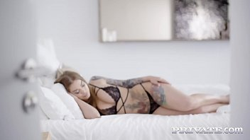 Inked Yoga Student Misha Maver, gives her teacher an amazing blowjob, gagging, deep-throating, pussy & titty fucking her way to a cum splashing facial! Full Flick & 100's more at Private.com!