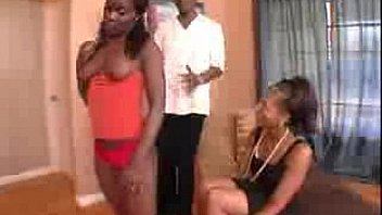 ebony mother daughter full length