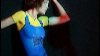 Supermodelo 2007-Bodypainting (Isabel Cañete, Magdalena Pérez, Alba Carrillo..)