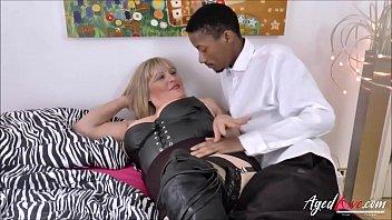 Alisha Rydes and her y. boyfriend with big black cock