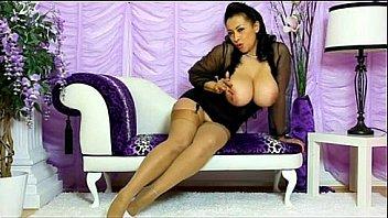 Danica teasing stockings high-heels Thumbnail