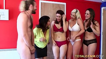 Sexy group blowjob