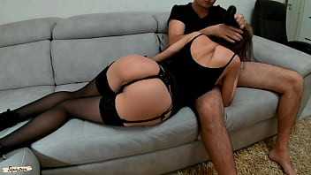 Little whore in Stockings do everything for money - Squir7een
