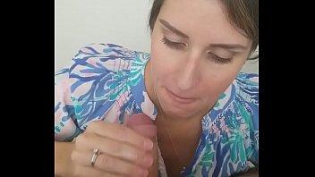 Blowjob amateur wife