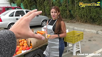 CARNE DEL MERCADO - #Melissa Lujan - Sexy Ass Colombiana Loves To Fuck With That Guy