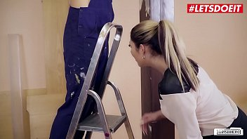 LETSDOEIT - European Hot Girl Mia Blow Sucks And Fucks At The Job