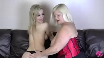 Horny Granny On Webcam Eats Younger Girls Pussy