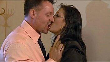 Busty secretary Jasmin pleases her boss