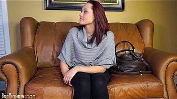 Hot brunette enjoys her lesbians dildo Thumbnail
