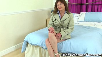 Hot mature Kristine Von Saar from Germany takes off her clothes and lets her fingers bring her pure bliss (now available in Full HD 1080P). Bonus video: German mature Inge.