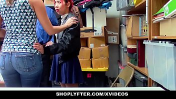 ShopLyfter - Mother (Christy Love) and Daughter Share Security Cock