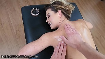 MILF Is Surprised to See Her Son's Friend All Grown Up Working as Masseur