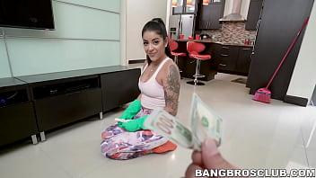 Inked latina fucks for money in POV Thumbnail