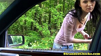 Innocent hitchhiking teen from russia...