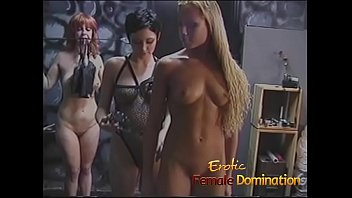 Even though it was this sexy blonde's first time, she made a good slave girl.