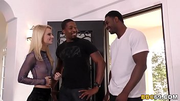 Riley Star Interracial Threesome Sex With BBC