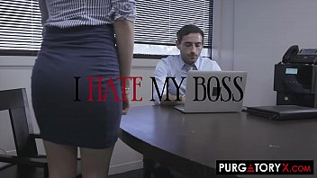 Gorgeous blonde lets her boss fuck her ass in an attempt to get a raise