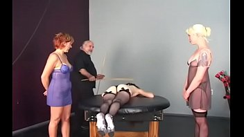 Bizarre servitude with hot mom and young daughter