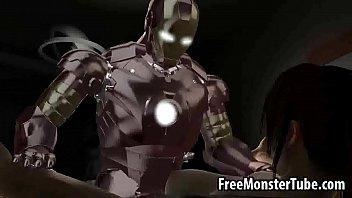 Man machine iron war