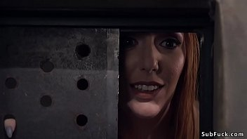 sexy big tits redhead intern lauren phillips inspects crazy patient ramon nomar in bondage till he changes roles and anal fucks her