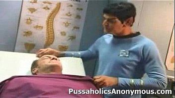 Sexy Star Trek parody starring Vicky Vette