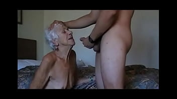 very old granny fucked by young guy with big dick I meet her on 2easysex.club