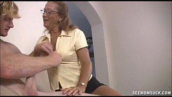 mature granny blowjobs big dick Thumbnail