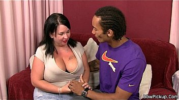 Bbw interracial with fatty in stockings