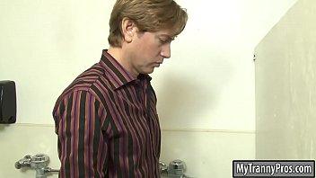 busty mature shemale fucks pervert man