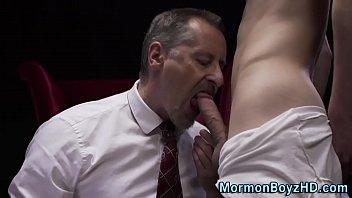 Guilty Amateur Elder Jerks His Black Rod