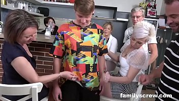 Son Learns how to Fuck from Caring Family