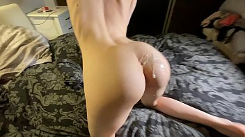 Amateur y. with big butt fucks in doggystyle POV