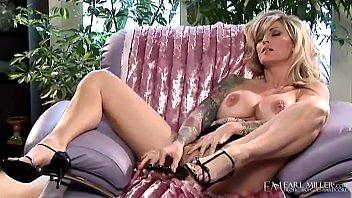 Smoking Hot Tattooed Cougar, Janine Lindemulder, aka (Janine James) Finger Fucks her majestic milf muff until she makes herself cum! Full Video at EarlMiller.com where Erotic Art Goes Hardcore!