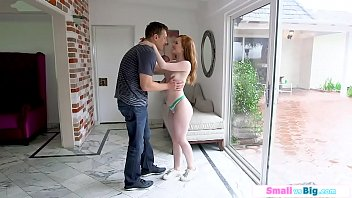 Cute british babe filmed getting fucked by bfs huge cock