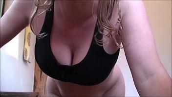 Bath with big titty housewife