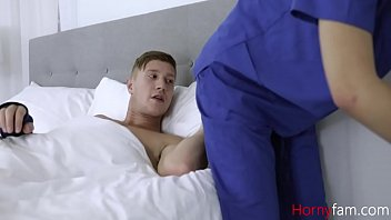 Doctor Sister Loves Playing With Brother's Cock
