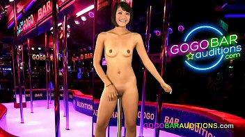 Asian audition for gogo bar